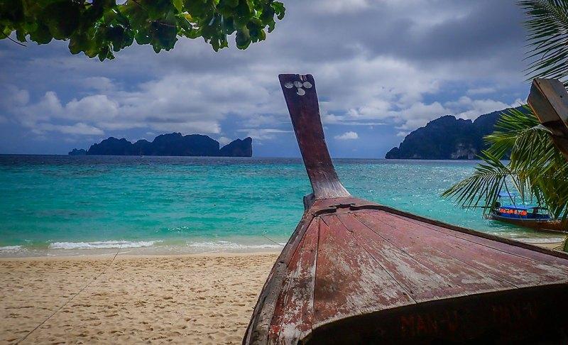 boat in Ko Phi Phi