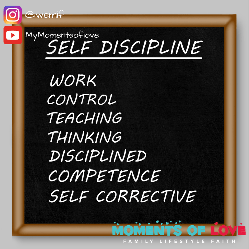 discipline one word
