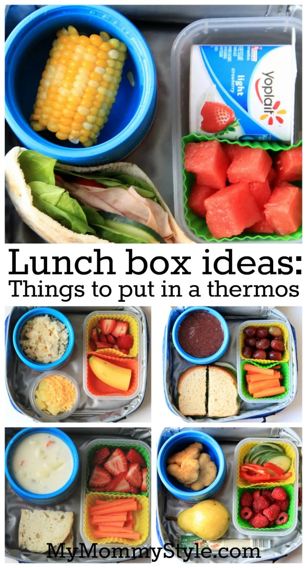 Things to put in a thermos
