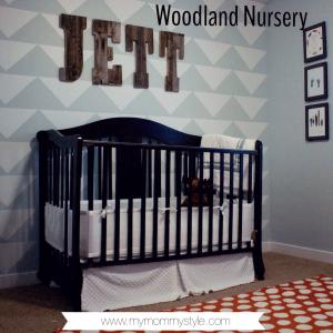 Woodland nursery www.mymommystyle.com boy nursery