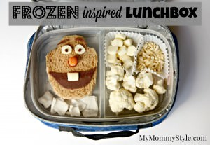 Frozen inspired lunchbox