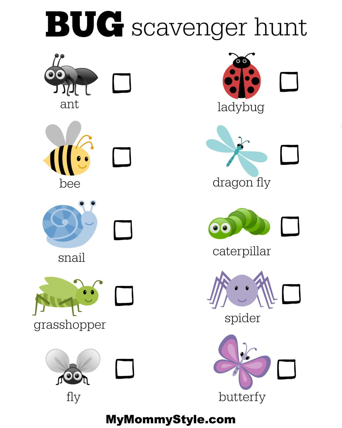 25 Bug Activities For Kids