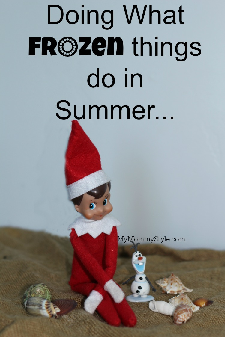 Elf On The Shelf Frozen What Frozen Things Do In Summer