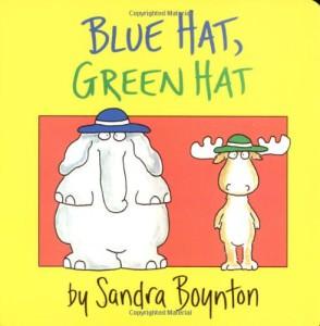 books blue hat