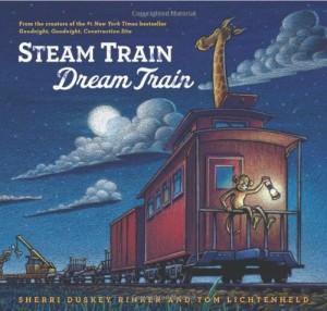 books steam train