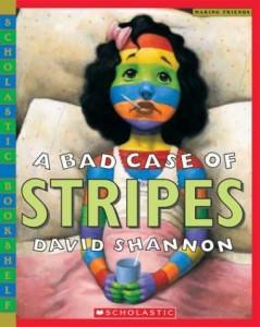books stripes