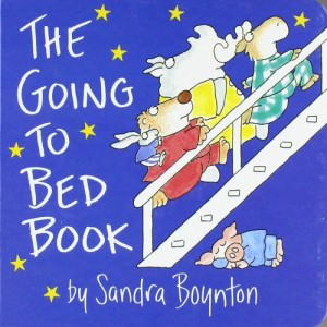 board book going to bed