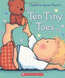 board books toes