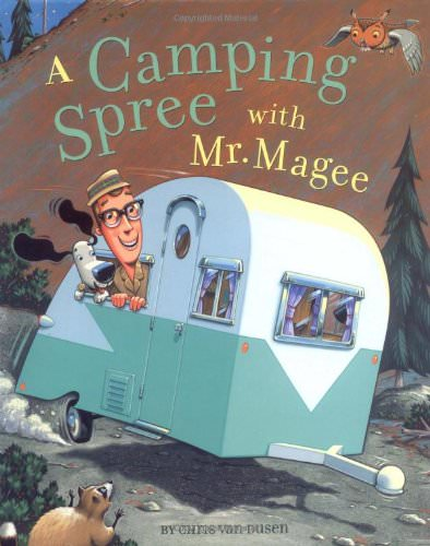 summer books a camping spree with mr magee
