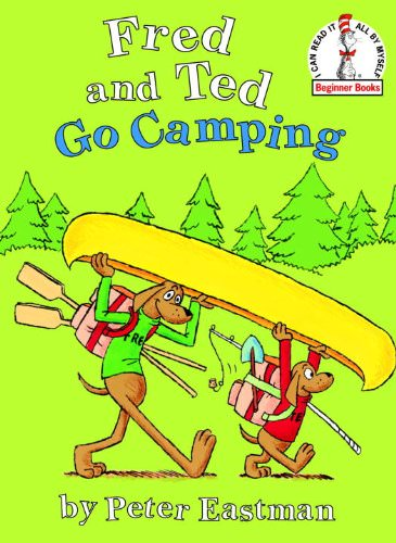 summer books fred and ted go camping