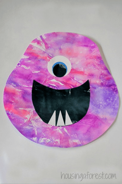 Coffee Filter and Marker Monsters