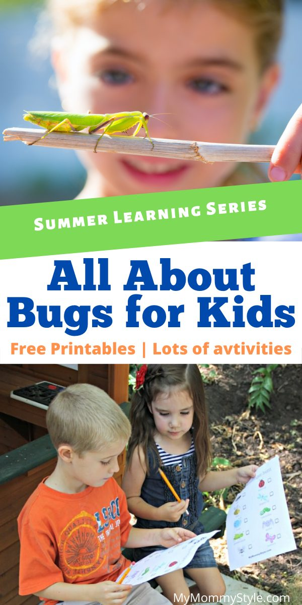 Kids love to study and look at bugs! Learn all about bugs for kids with some of our very favorite bug activities, books and snacks.  via @mymommystyle