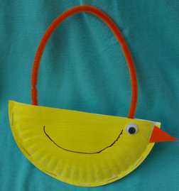 easter chick purse