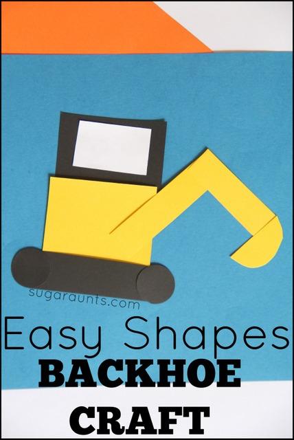 shape back hoe