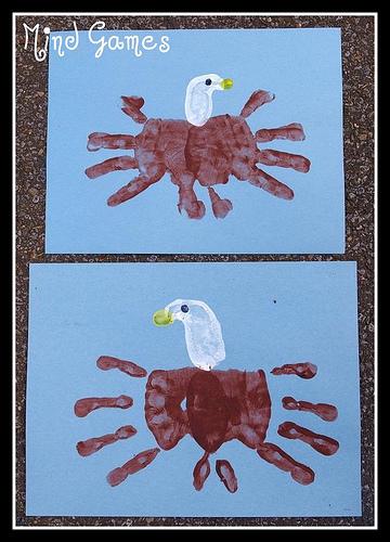 handprint eagle