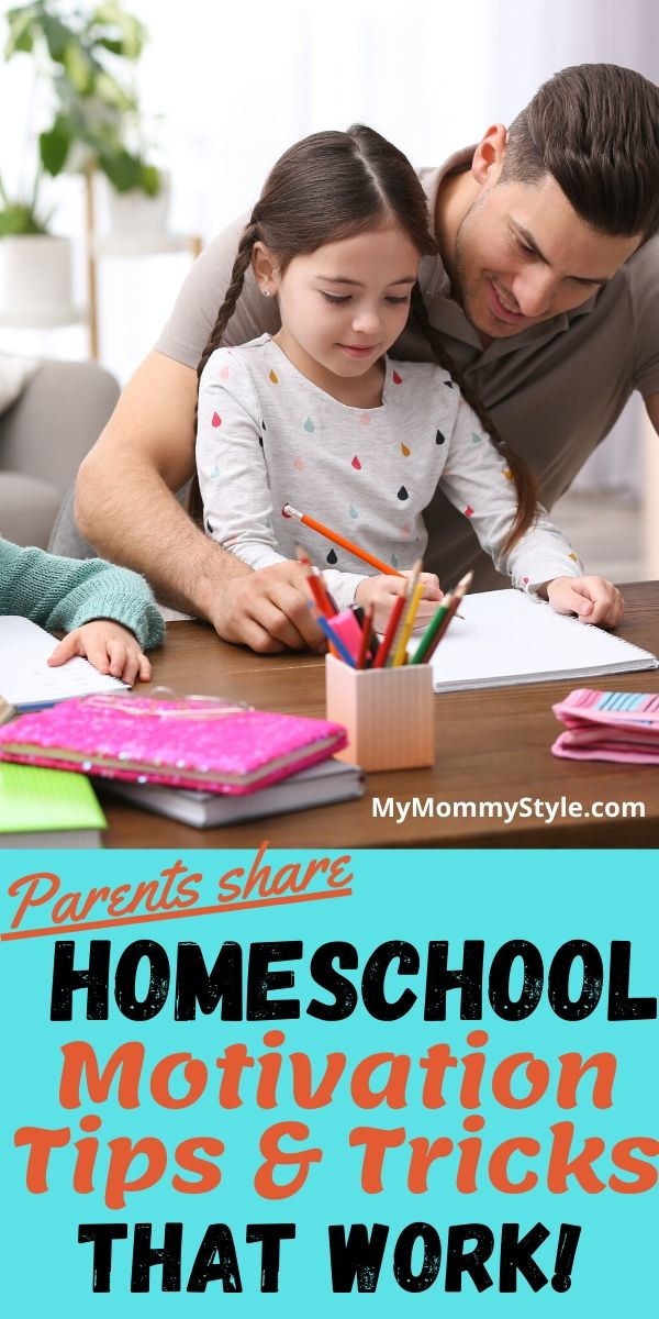 Keep kids happy and motivated to learn during temporary homeschooling. Parents and teachers share their tips and tricks  for what really works best. #temporaryhomeschooling #homeschool #COVID19 #school closure #stayathome #coronavirus via @mymommystyle
