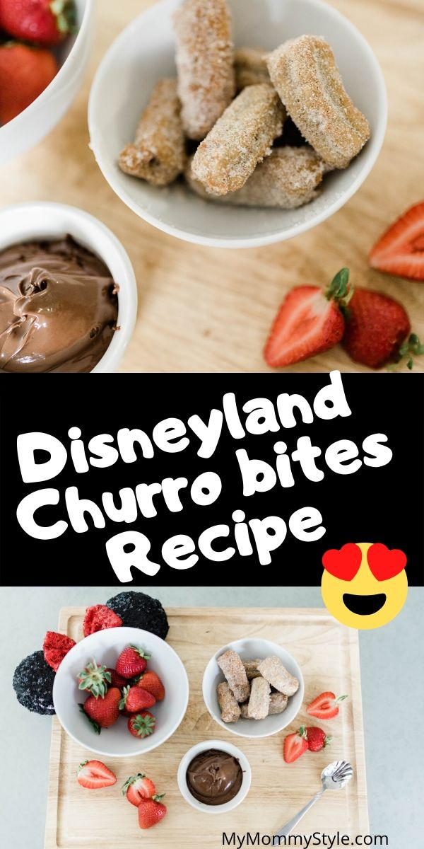 This official Disneyland churro bites recipe is easy to make and so worth the time! I am definitely saving this Disney churro recipe to make it at home! via @mymommystyle
