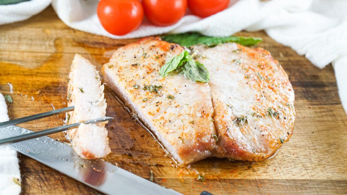 Boneless Air Fryer Pork Chops