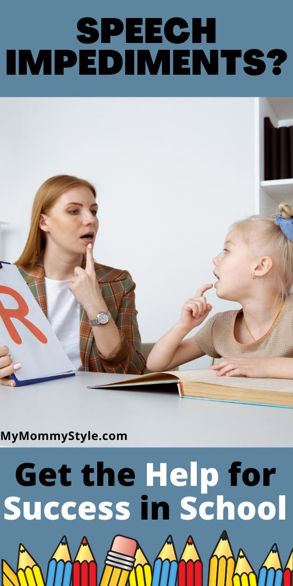 Understand what is a speech impediment and how it can negatively effect your child's education if you don't seek out the help they need. #whatisaspeechimpediment #speechimpediment #speechdisorder  via @mymommystyle