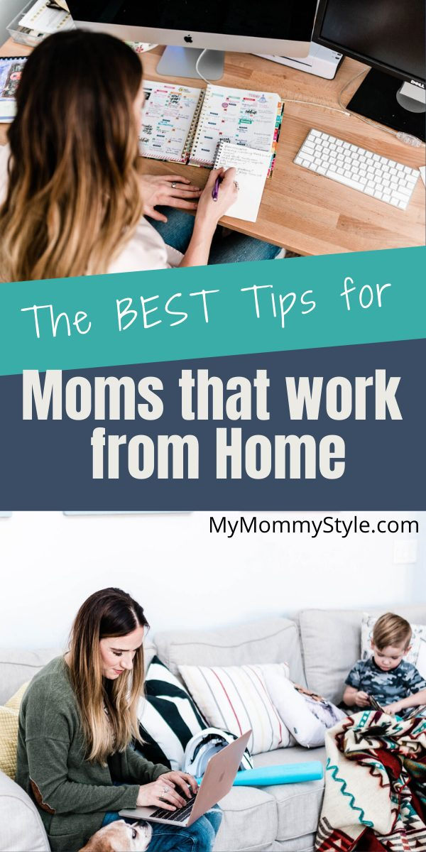 Being a mom and balancing a work schedule at home can be challenging. Check out these tips to help you manage how to be a work from home mom. #workfromhomemom #workingmoms #workingmomschedules via @mymommystyle