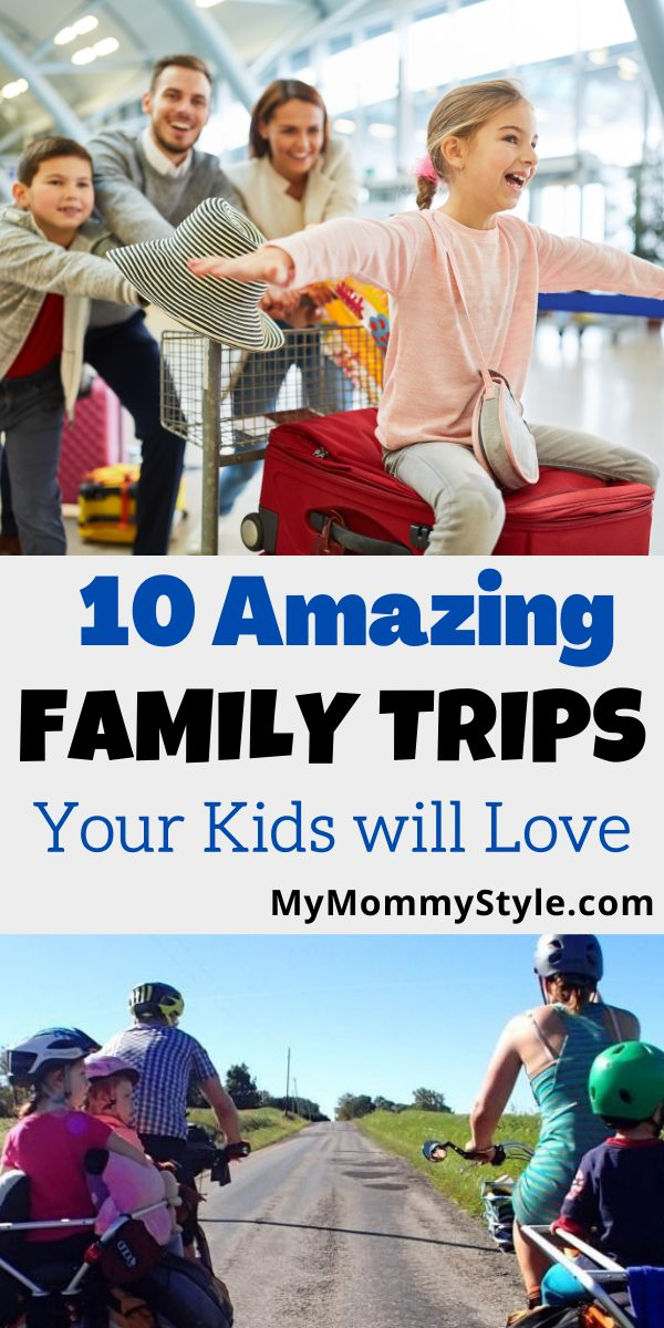 Need some travel ideas for your family? Make some memories on these ten worldwide family trips your kids will love. #familytrips #travelingwithkids via @mymommystyle