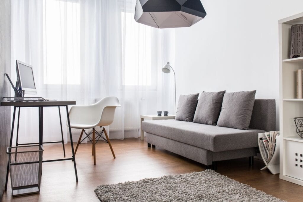 how to make a small room look bigger 7