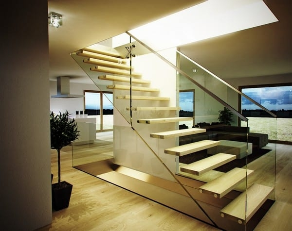 18 Select Ideas For Modern Indoor Stairs By Christian Siller | Designer Stairs For Houses | Cool | Contemporary | Fancy | Residential | Interior