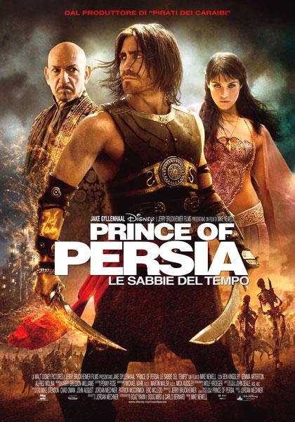 Locandina italiana Prince of Persia - Le sabbie del tempo