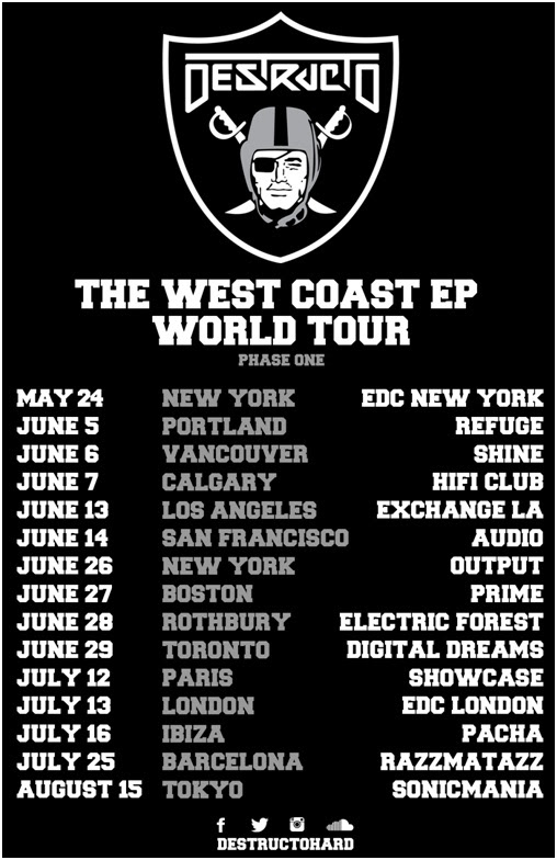 destructo west coast