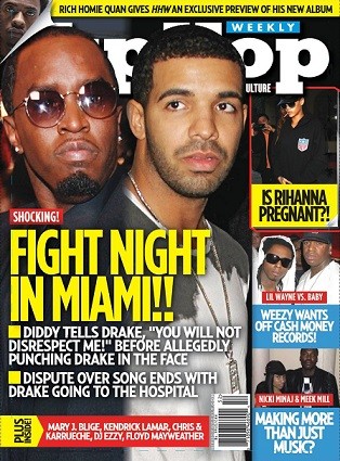 12-23-14 Cover Fight Night Miami - Diddy & Drake