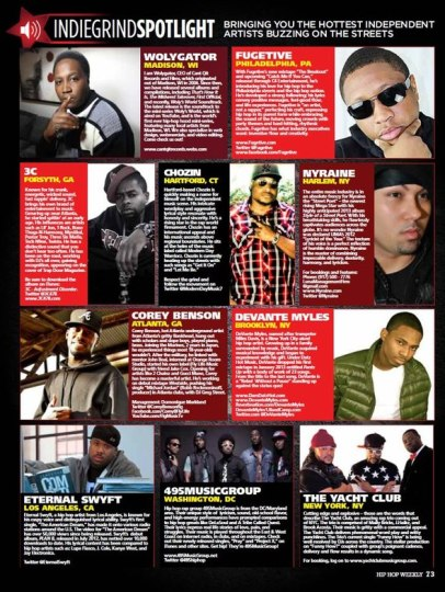HipHop Weekly Magazine feature