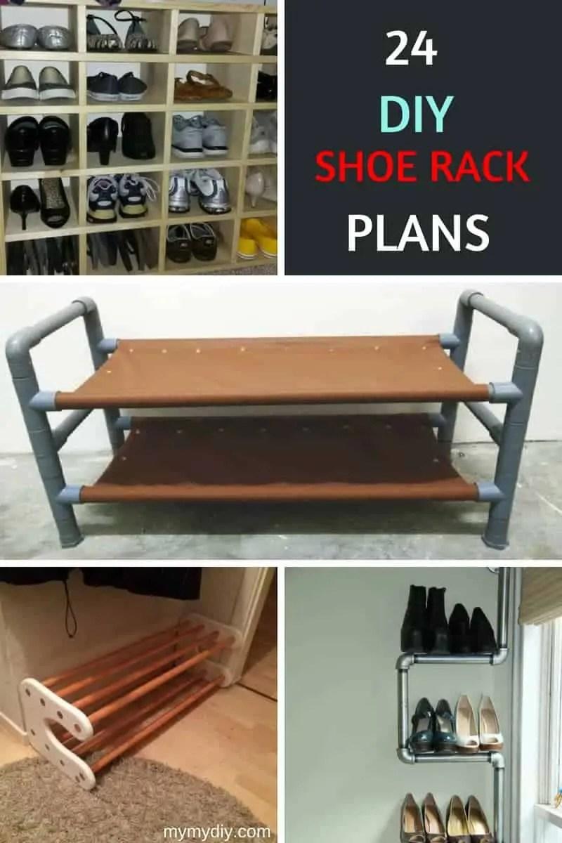 diy shoe rack cardboard