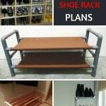 24 Savvy Diy Shoe Rack Plans Free Blueprints Mymydiy Inspiring Diy Projects