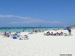 plage cancun mer des caraibes