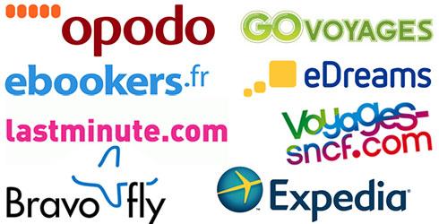 Sites intermédiaires voyage