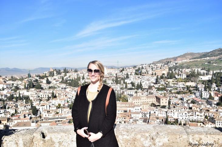 grenade alhambra alcazaba