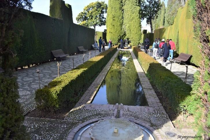 generalife alhambra grenade