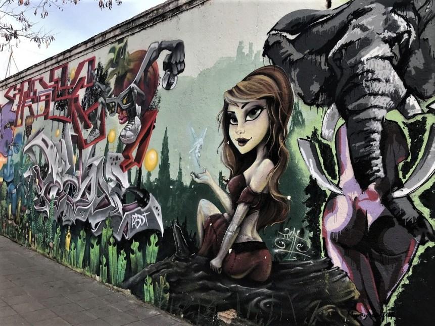 Street-art à Grenade