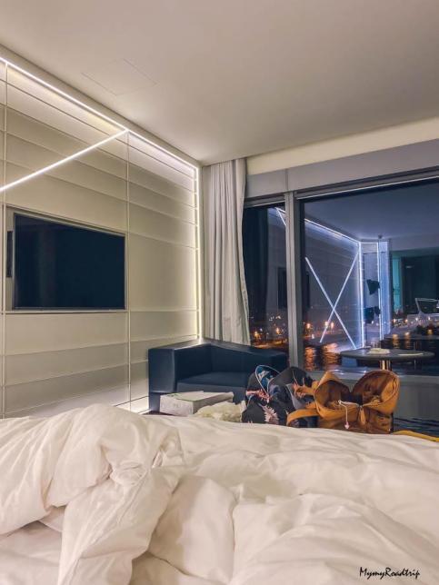 chambre hotel w barcelona