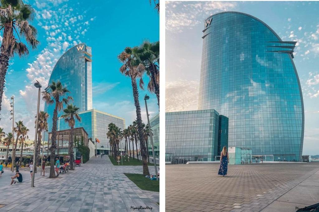 barcelone hotel w barcelona