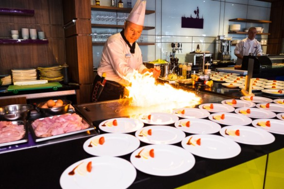 teppanyaki is a japanese cooking style