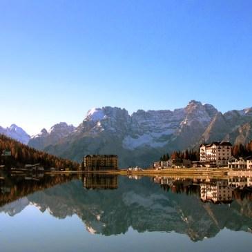 A Day at the Italian Dolomites: Le Tre Cime di Lavaredo in January