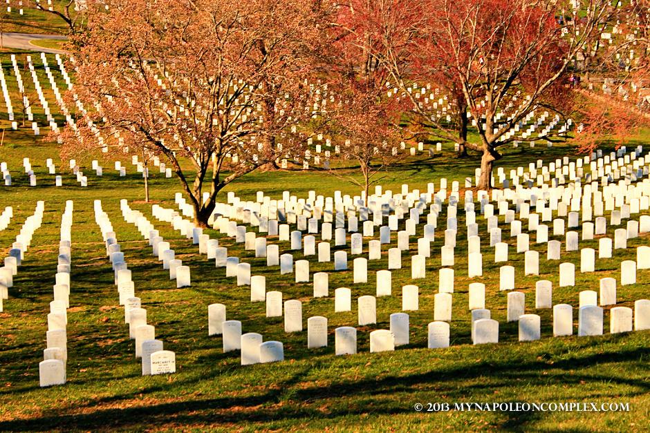 Arlington Cemetery in early Spring.