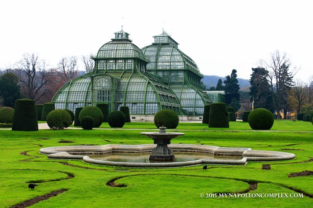 Picture of the Palm House in Schönbrunn
