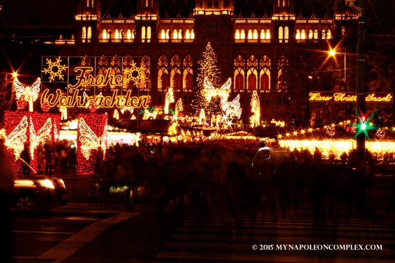 Picture of Rathaus Christmas Market, Vienna