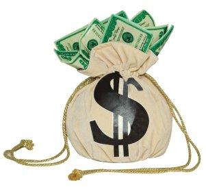 Cloth-American-Money-Bag