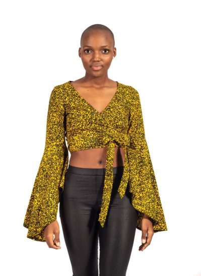 ankara crop top