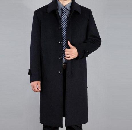 Longline Leather Coats/ Overcoat