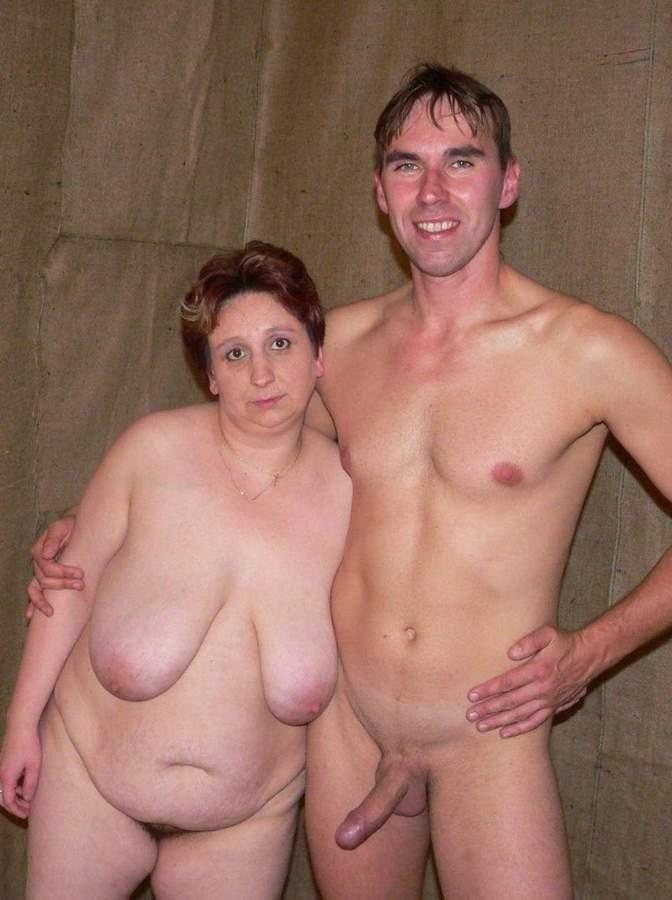 naked grandmother with huge boobs