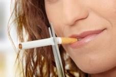 lady stopping smoking